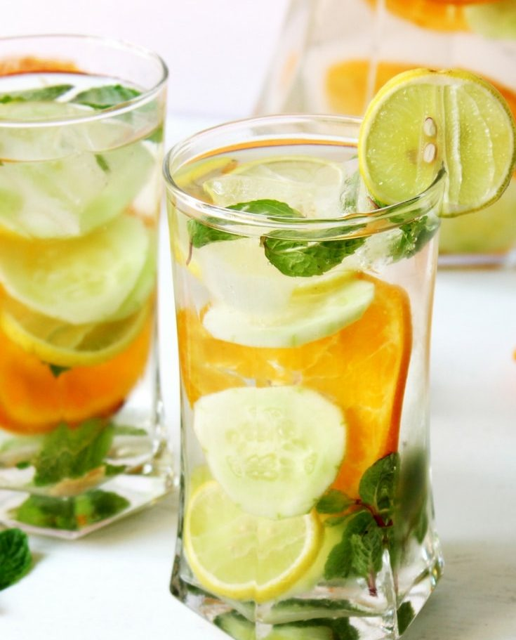 Nước detox đem lại vẻ đẹp tươi mới rạng ngời cho bạn