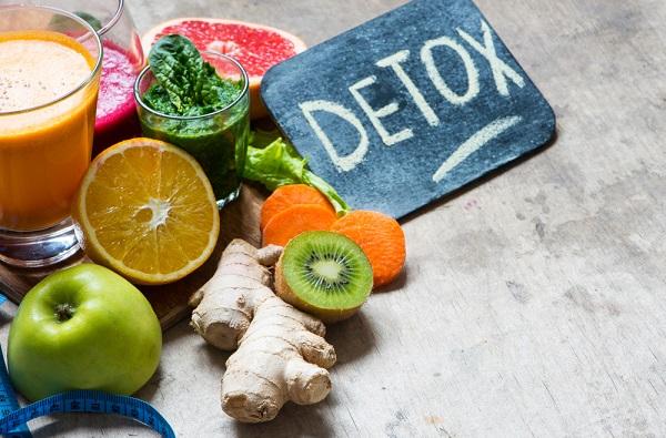 chế độ ăn kiêng detox