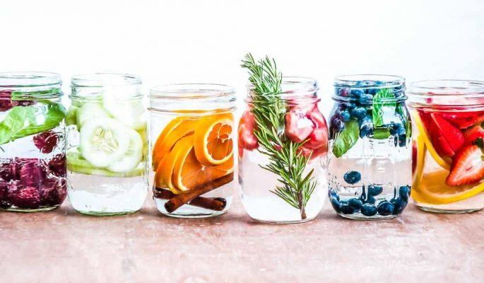 cách làm nước detox