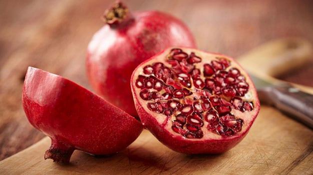 trái cây detox - lựu