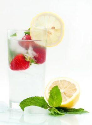 nước detox chanh