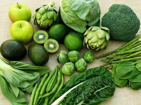sử dụng rau trong quá trình detox cuộc sống