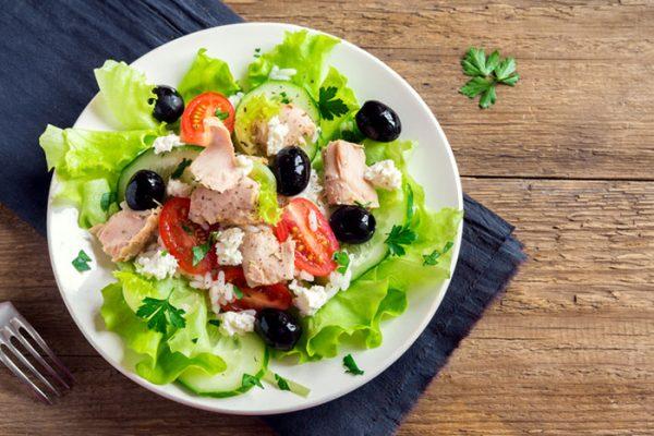 salad cá ngừ