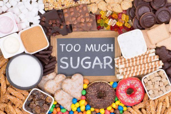thực phẩm nhiều đường